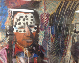 fifth graders artwork--Native American