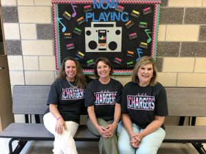 three prek teachers