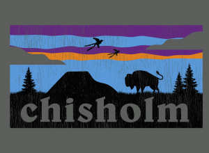 Chisholm theme logo 2020